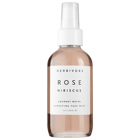 Herbivore Rose Hibiscus Coconut Water Hydrating Face Mist 4 oz