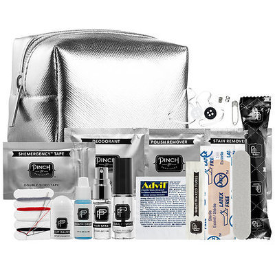 Pinch Provisions Minimergency Kit For Her - Silver Metallic 3.5