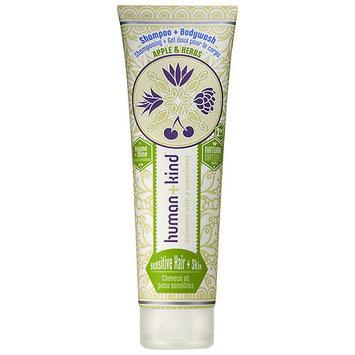 Human + Kind Apple & Herbs Shampoo + Body Wash - Sensitive 8.45 oz