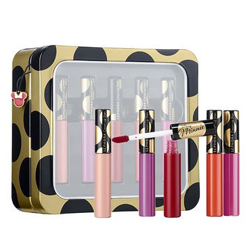 SEPHORA COLLECTION Disney Minnie Beauty: Minnie-ature Cream Lip Stain Set 5 x 0.10 oz Cream Lip Stain Set