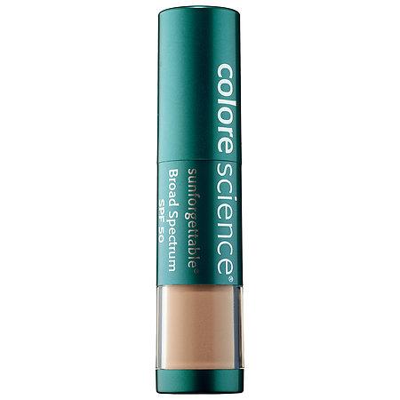 Colorescience Sunforgettable(R) Loose Mineral Sunscreen Brush Broad Spectrum SPF 50 Medium 0.21 oz