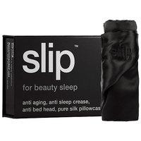 Slip Silk Pillowcase - Standard/Queen Black