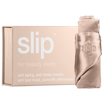Slip Silk Pillowcase - Standard/Queen Caramel