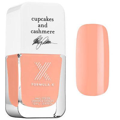 Formula X #ColorCurators: Cupcakes and Cashmere Edition - Nail Polish Peach Tea 0.4 oz