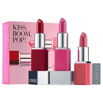 Clinique Kiss, Boom, Pop! Lip Set
