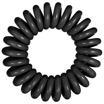 Invisibobble The Traceless Hair Ring True Black 3 traceless hair rings