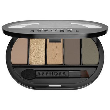 SEPHORA COLLECTION Colorful 5 Eye Contouring Palette Tan 0.17 oz