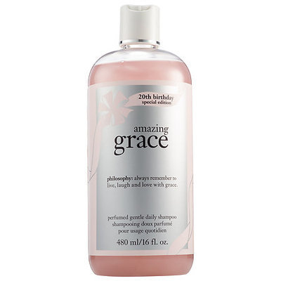 philosophy Amazing Grace 20th Birthday Special Edition Perfumed Gentle Daily Shampoo