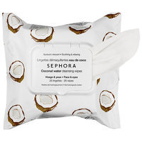 SEPHORA COLLECTION Cleansing & Exfoliating Wipes Coconut Water