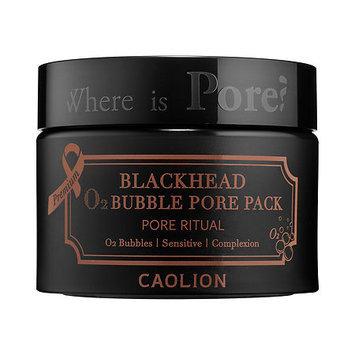 Caolion Premium Blackhead O2 Bubble Pore Pack