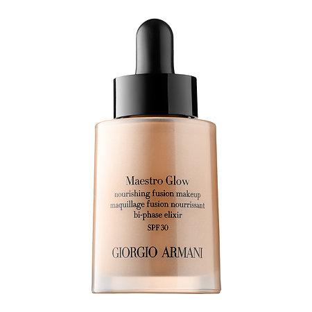 Giorgio Armani Maestro Glow Nourishing Fusion Makeup