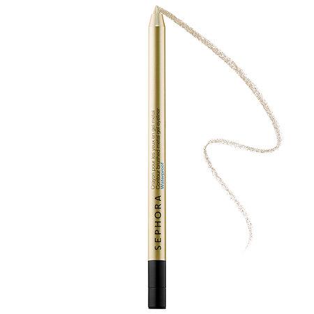SEPHORA COLLECTION Contour Brushed Metal Gel Eyeliner Waterproof 1 Gold Digger 0.0176 oz