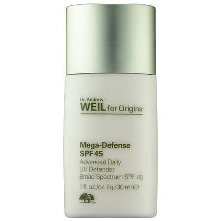 Origins Dr. Andrew Weil For Origins™ Mega-Defense Advanced Daily UV Defender Broad Spectrum SPF 45 1 oz