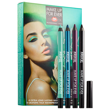 MAKE UP FOR EVER Charli XCX Festival Faves 4 Waterproof Eyeliners 4 x 0.04 oz