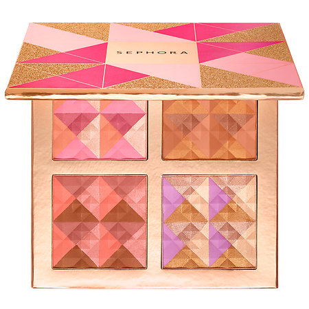 SEPHORA COLLECTION Blush, Bronzed and Ready to Glow! Face Palette