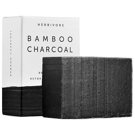Herbivore Bamboo Charcoal Detoxifying Soap Bar 4 oz
