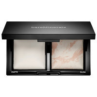 bareMinerals Invisible Light Translucent Powder Duo Matte- Mat, Glow- Brilliant 0.31 oz