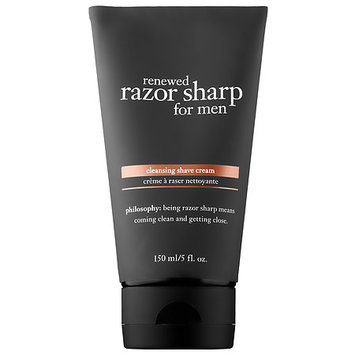 philosophy Renewed Razor Sharp for Men Cleansing Shave Cream 5 oz