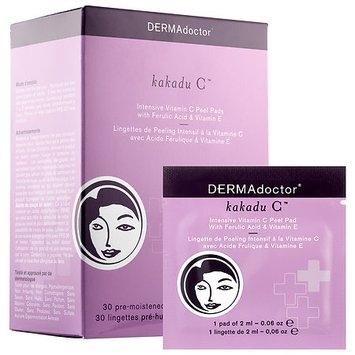 DERMAdoctor Kakadu C(TM) Intensive Vitamin C Peel Pads with Ferulic Acid & Vitamin E 30 x 0.06 oz pre-moistened pads
