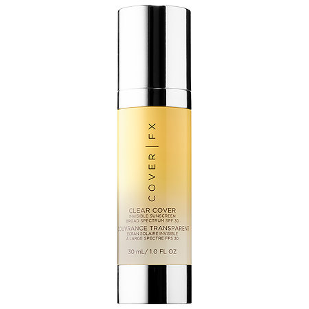 Cover FX Clear Cover Invisible Sunscreen Broad Spectrum SPF 30 1 oz