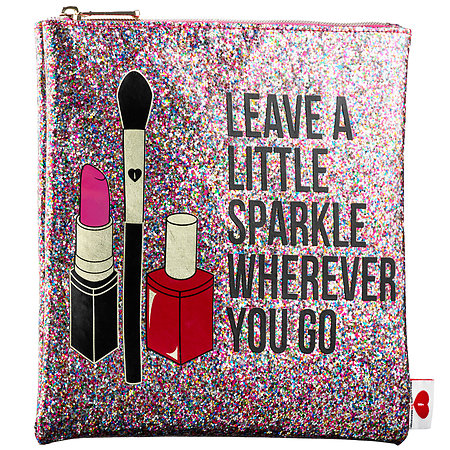 SEPHORA COLLECTION Leave A Little Sparkle Wherever You Go Clutch 8.75W x 8.25H
