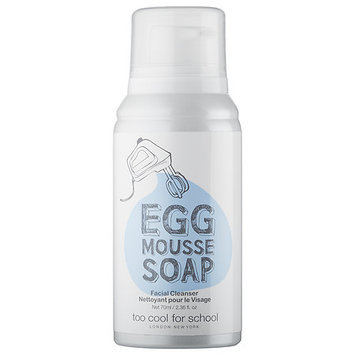 Too Cool For School Egg Mousse Soap Facial Cleanser 2.36 oz