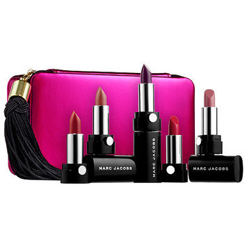 Marc Jacobs Beauty Up All Night Five-Piece Petities Le Marc Lip Creme Collection 5 x 0.05 oz
