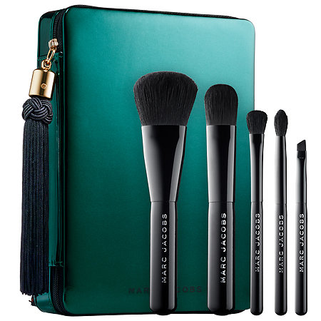 Marc Jacobs Your Place Or Mine? Five-Piece Travel Brush Collection