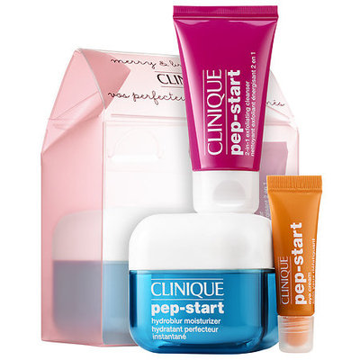 CLINIQUE Merry & Brightening Pep-Start Set