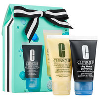 Clinique Sparkle & Glow Set for Oilier Skin