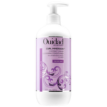 Ouidad Curl Immersion(TM) Coconut Cream Cleansing Conditioner 16 oz