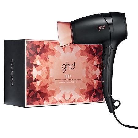 Slide: ghd Copper Luxe Flight Travel Hairdryer