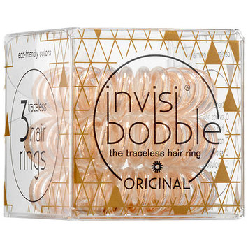 invisibobble Time to Shine The Traceless Hair Ring Bronze Me Pretty 3 traceless hair rings
