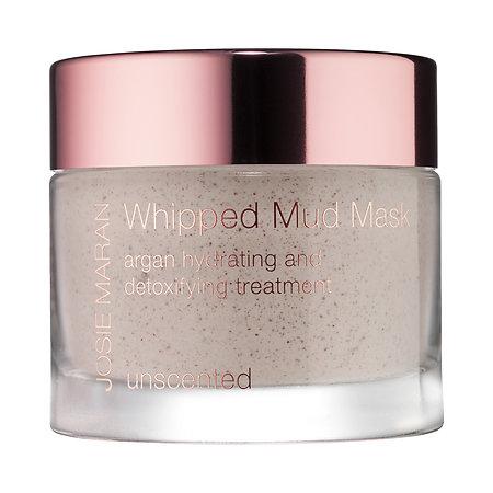Josie Maran Whipped Mud Mask Argan Hydrating and Detoxifying Treatment 1.7 oz