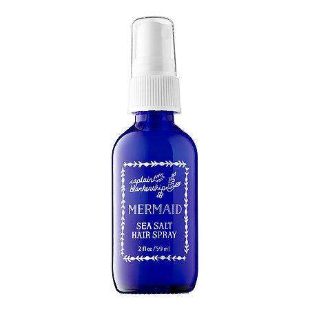 Captain Blankenship Mermaid Sea Salt Hair Spray 2 oz