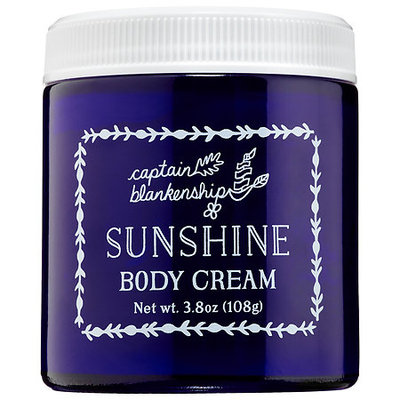 Captain Blankenship Sunshine Body Cream 3.8 oz