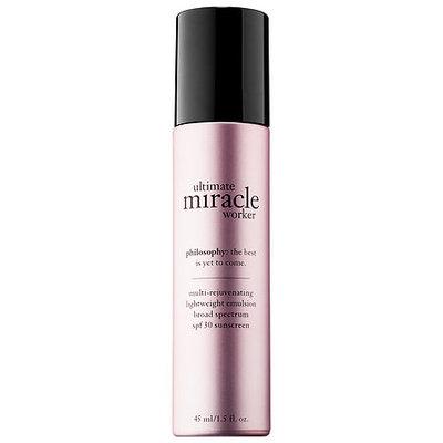 philosophy Ultimate Miracle Worker Multi-Rejuvenating Lightweight Emulsion SPF 30 1.5 oz