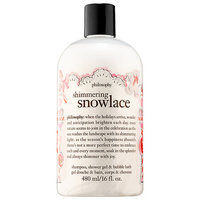 philosophy Shimmering Snowlace Shampoo, Shower Gel & Bubble Bath 16 oz/ 480 mL