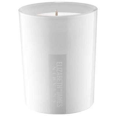 Elizabeth and James Nirvana White Candle 10 oz/ 283 g