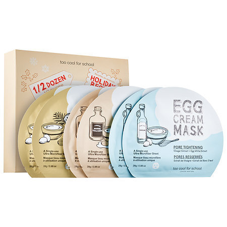 Slide: Too Cool For School 1/2 Dozen Egg Cream Mask