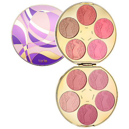 tarte Amazonian Clay Blush Palette Color Wheel