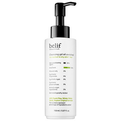 belif Cleansing Gel Oil Enriched 5.07 oz/ 150 mL