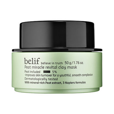 belif Peat Miracle Revital Clay Mask 1.76 oz/ 50 g