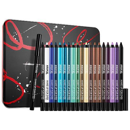MAKE UP FOR EVER Artistic Aqua XL Eye Pencil Collection