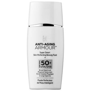 IT Cosmetics Anti-Aging Armour(TM) Super Smart Skin-Perfecting Beauty Fluid SPF 50+ 1 oz/ 30 ml