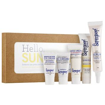 Supergoop! Hello Sunshine Suncare Starter Kit