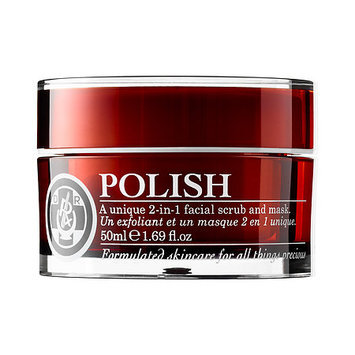 Dr Roebuck's POLISH 2-in-1 Facial Scrub and Mask 1.69 oz/ 50 ml