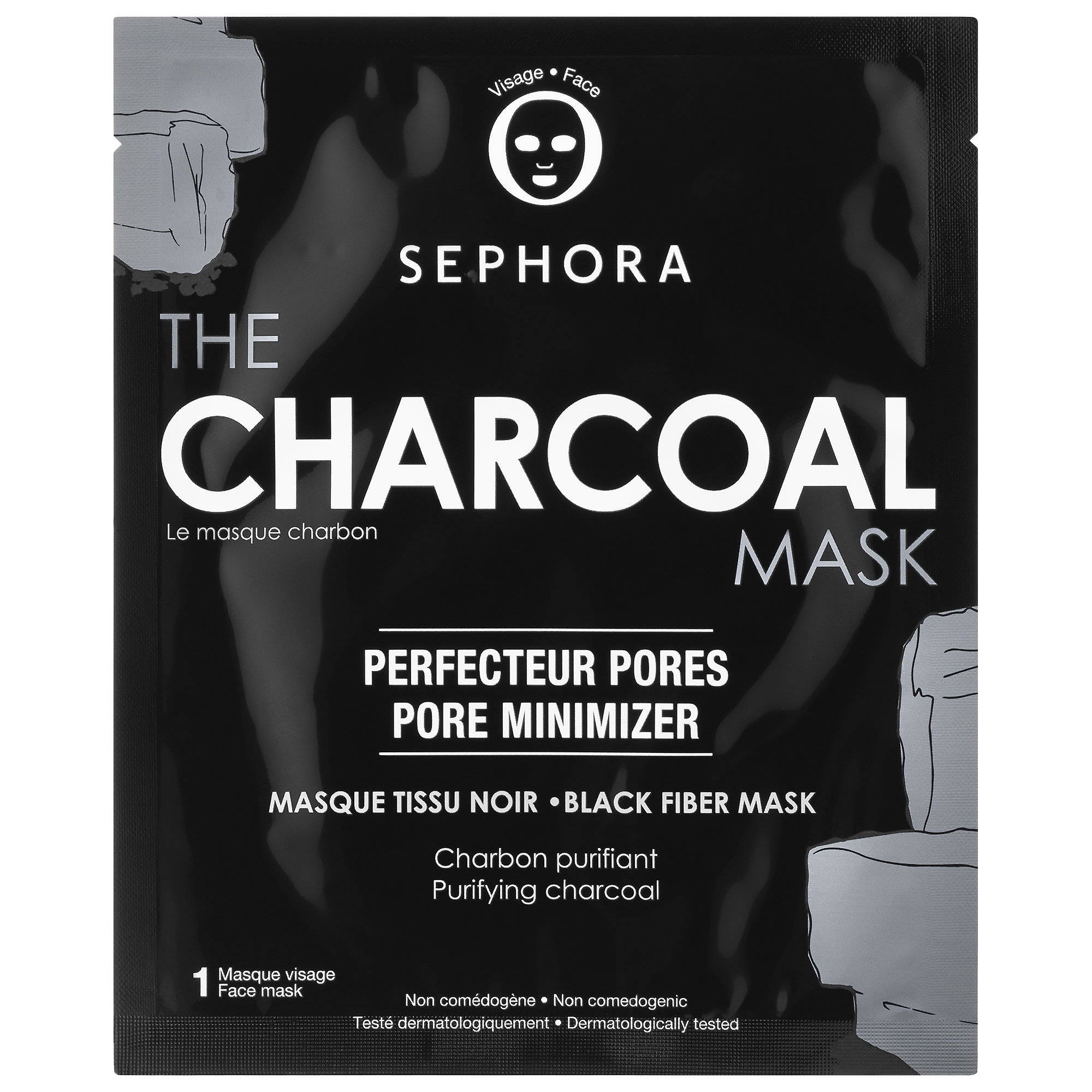 SEPHORA COLLECTION SUPERMASK - The Charcoal Mask