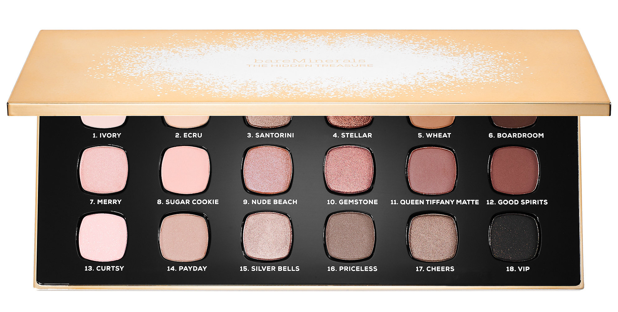 bareMinerals The Hidden Treasure Ready Eyeshadow Palette