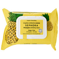 SEPHORA COLLECTION Exfoliating Wipes - Pineapple